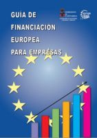 Portada guia de financiacion europea para empresas marzo