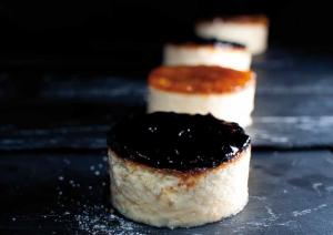 Tarta de queso y ráspanos