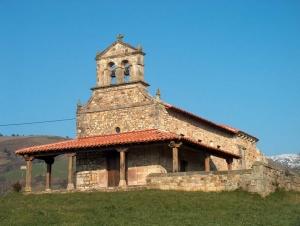 Fachada principal Monasterio de San Vicente de Fístoles