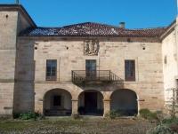 Fachada principal del Palacio de Gómez Barreda en Saro