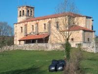 Fachada principal Iglesia de San Jorge, Penagos