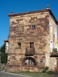 Fachada principal del Palacio de Miranda