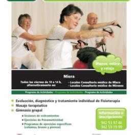 El Programa de Salud Corporal en Miera y Saro